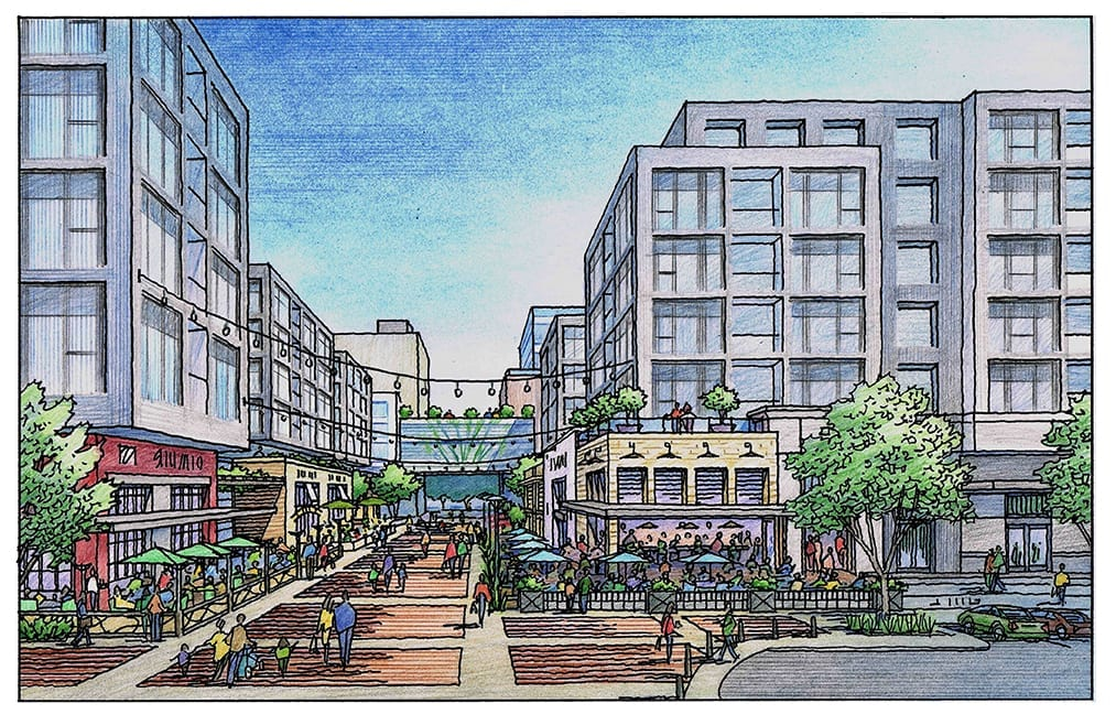 Color Rendering for Project Like Santana Row