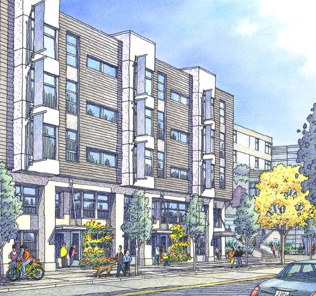 Architectural Renderings for San Francisco Projects